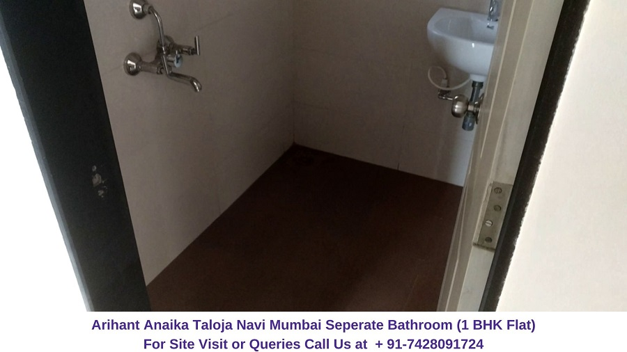 Arihant Anaika Taloja Navi Mumbai 1 BHK Flat Bathroom