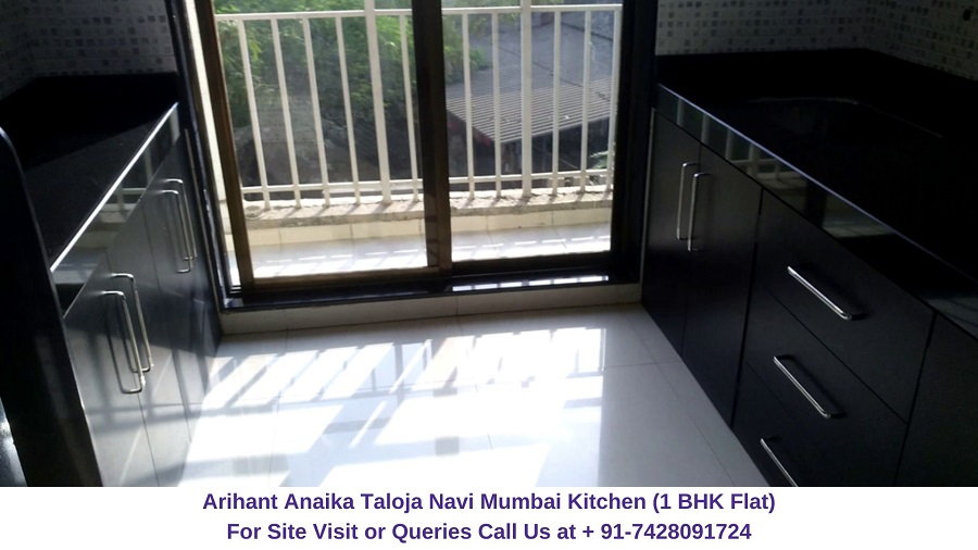 Arihant Anaika Taloja Navi Mumbai 1 BHK Flat Kitchen