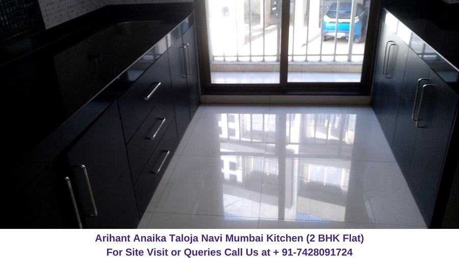 Arihant Anaika Taloja Navi Mumbai 2 BHK Flat Kitchen