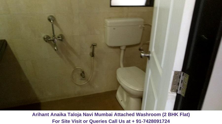 Arihant Anaika Taloja Navi Mumbai 2 BHK Flat Washroom