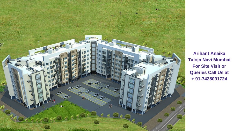 Arihant Anaika Taloja Navi Mumbai Aerial View
