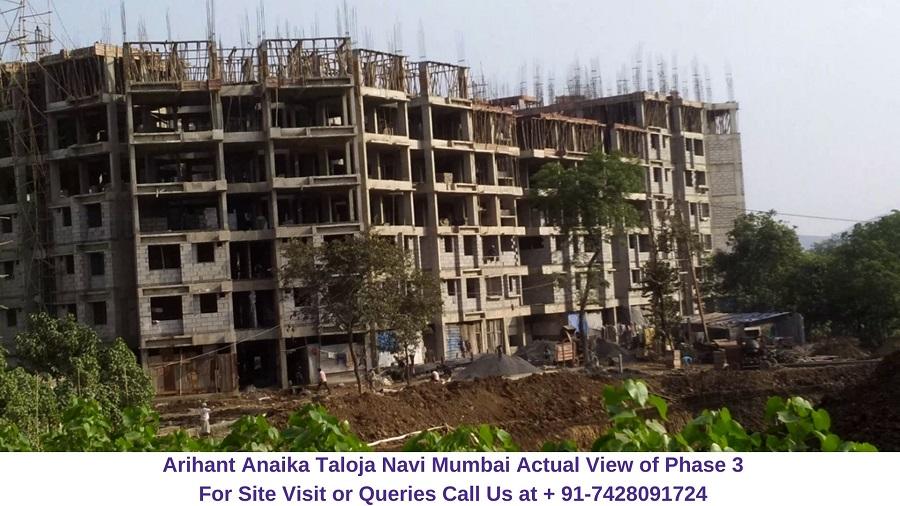 Arihant Anaika Taloja Navi Mumbai View of Phase 3