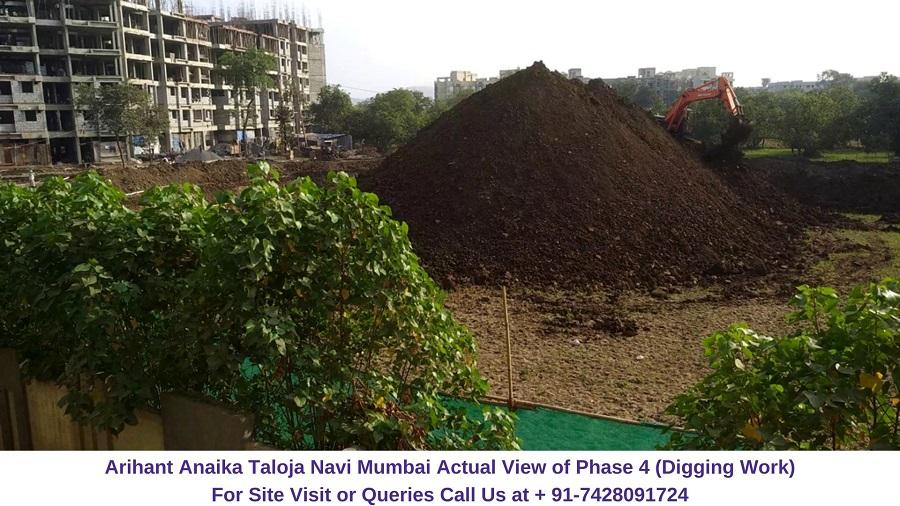 Arihant Anaika Taloja Navi Mumbai View of Phase 4 (1)