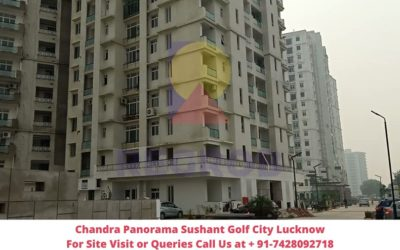 Chandra Panorama Sushant Golf City Lucknow Actual View of Project (3)