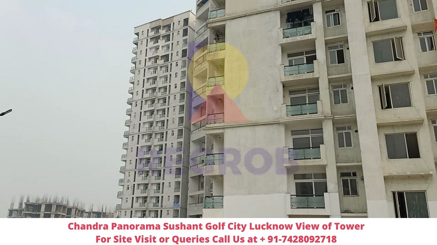 Chandra Panorama Sushant Golf City Lucknow Actual View of Project (4)
