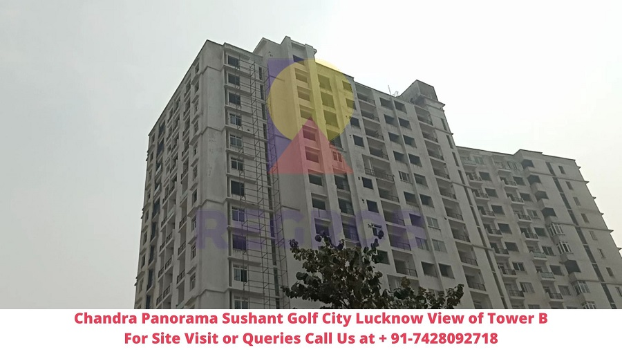 Chandra Panorama Sushant Golf City Lucknow Actual View of Project (5)