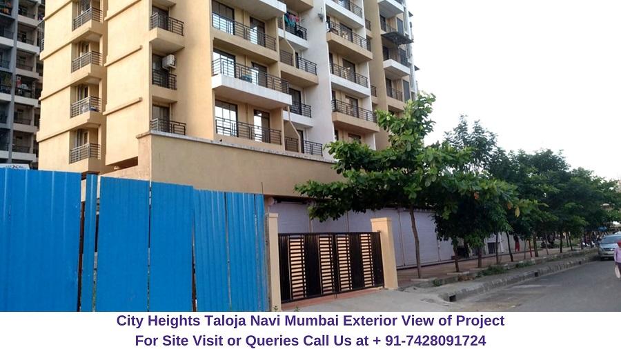 City Heights Taloja Navi Mumbai Actual View of Project (1)