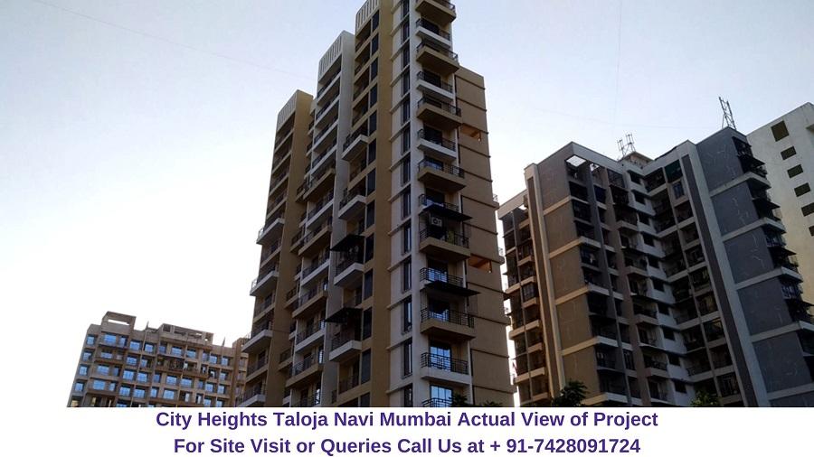 City Heights Taloja Navi Mumbai Actual View of Project (3)