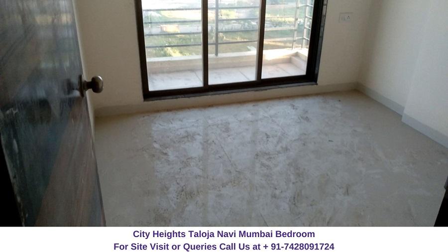 City Heights Taloja Navi Mumbai Bedroom (2)