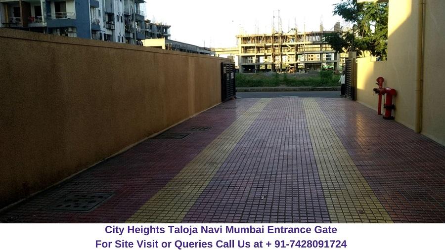 City Heights Taloja Navi Mumbai Entrance Gate