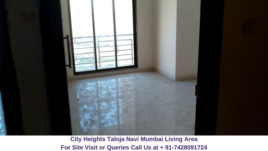 City Heights Taloja Navi Mumbai Living Area