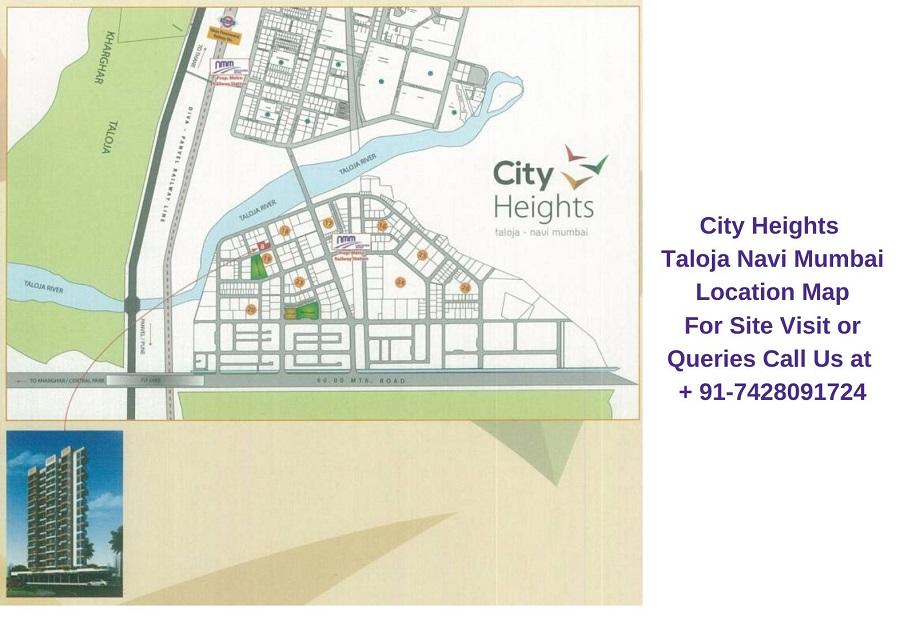 City Heights Taloja Navi Mumbai Location Map
