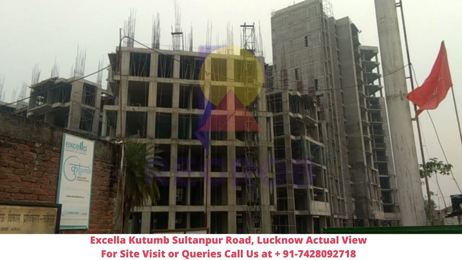 Excella Kutumb Sultanpur Road, Lucknow Actual View of Project (2)