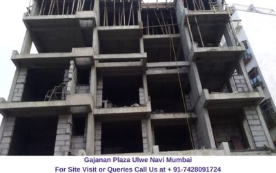 Gajanan Plaza Ulwe Navi Mumbai Actual View of Project
