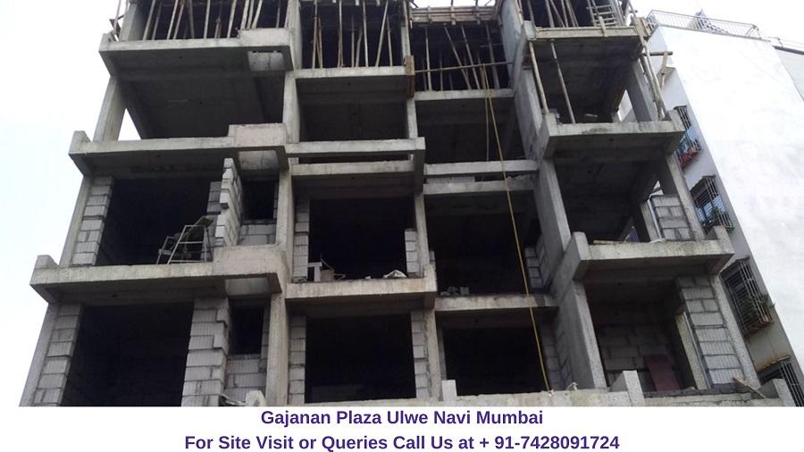 Gajanan Plaza Ulwe Navi Mumbai Actual View of Project