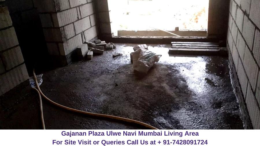 Gajanan Plaza Ulwe Navi Mumbai Living Area