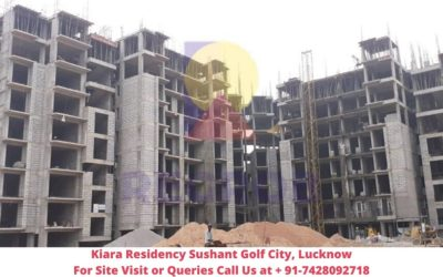 Kiara Residency Sushant Golf City, Lucknow Actual View of Project (2)