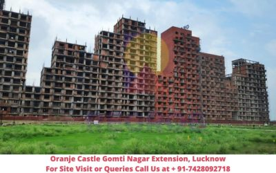 Oranje Castle Gomti Nagar Extension, Lucknow Actual View of Project (1)