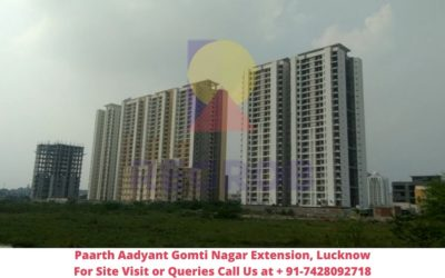 Paarth Aadyant Gomti Nagar Extension, Lucknow Actual View of Project (1)