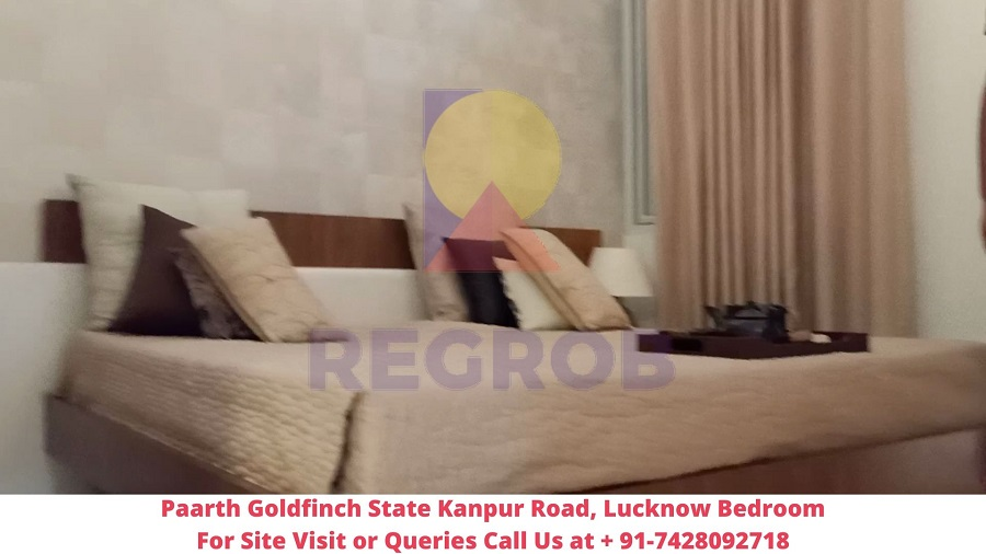 Paarth Goldfinch State Kanpur Road, Lucknow Bedroom (2)