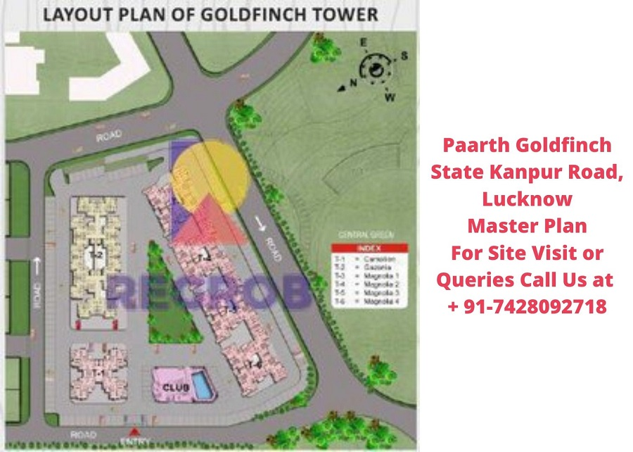 Paarth Goldfinch State Kanpur Road, Lucknow Master Plan