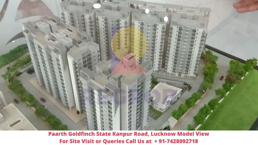 Paarth Goldfinch State Kanpur Road, Lucknow Model View