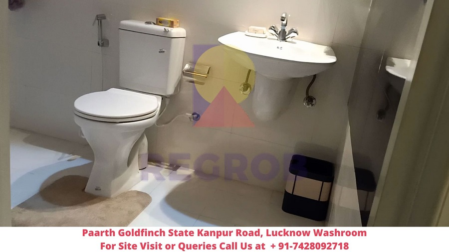 Paarth Goldfinch State Kanpur Road, Lucknow Washroom