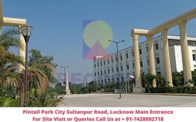 Pintail Park City Sultanpur Road, Lucknow Main Entrance