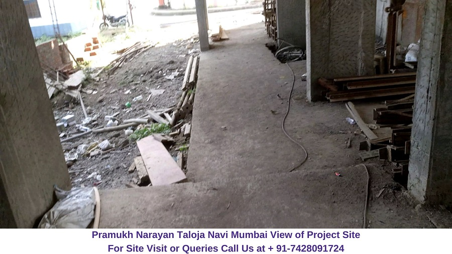 Pramukh Narayan Taloja Navi Mumbai Actual View of Construction Site (2)