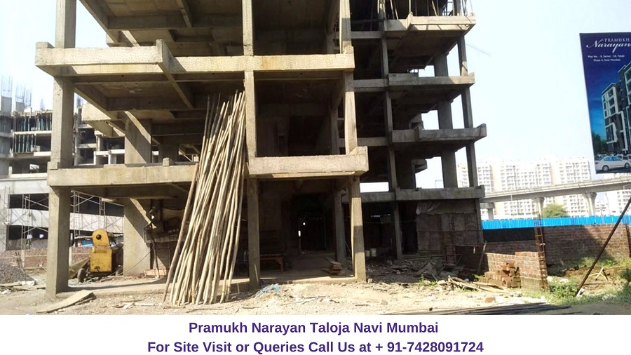 Pramukh Narayan Taloja Navi Mumbai Actual View of Construction Site (3)