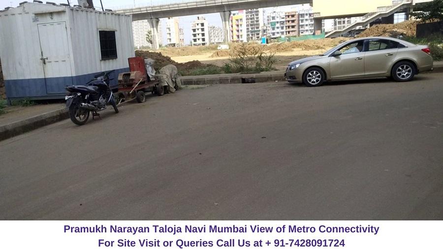 Pramukh Narayan Taloja Navi Mumbai Metro Connectivity