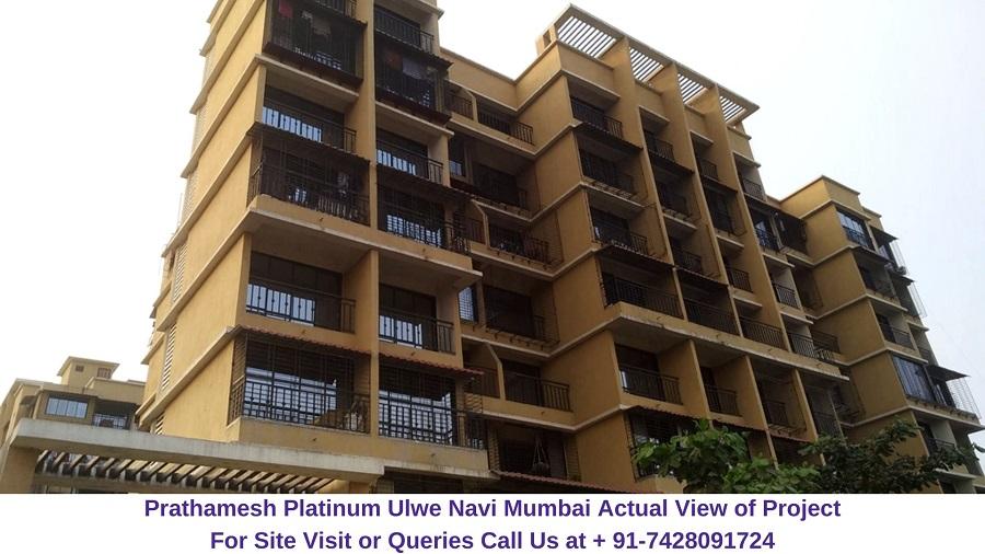 Prathamesh Platinum Ulwe Navi Mumbai Actual View of Project (2)