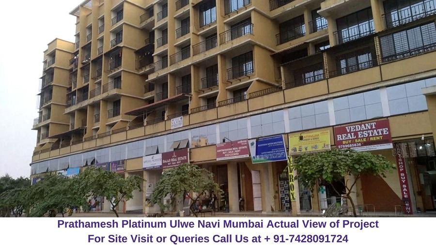 Prathamesh Platinum Ulwe Navi Mumbai Actual View of Project (3)