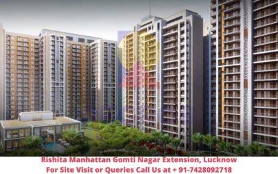 Rishita Manhattan Gomti Nagar Extension, Lucknow Front View