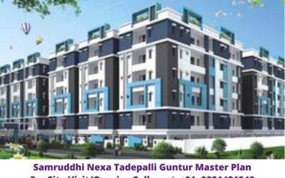 Samruddhi Nexa Tadepalli Guntur Master Plan