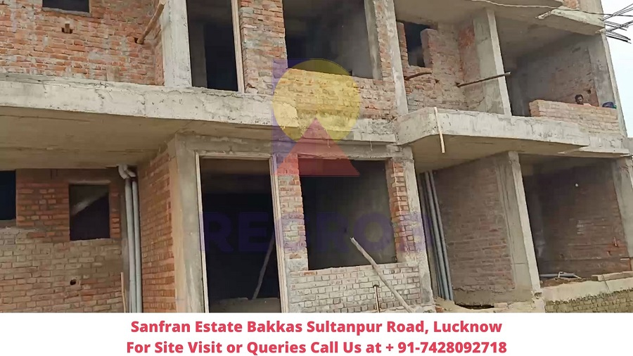 Sanfran Estate Bakkas Sultanpur Road, Lucknow Actual View of Villa (1)