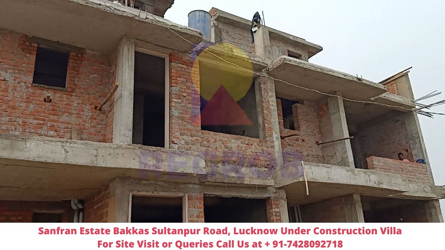 Sanfran Estate Bakkas Sultanpur Road, Lucknow Actual View of Villa (2)