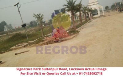 Signature Park Sultanpur Road, Lucknow Actual Image of Site (4)