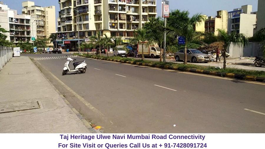 Taj Heritage Ulwe Navi Mumbai Raod Connectivity