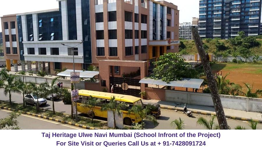 Taj Heritage Ulwe Navi Mumbai School Infront of Project