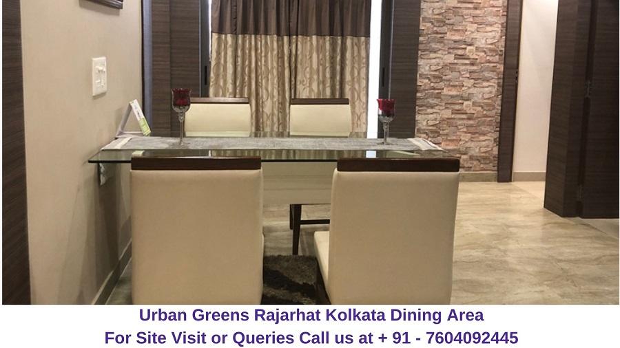 Urban Greens Rajarhat Kolkata Dining Area