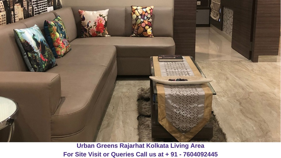 Urban Greens Rajarhat Kolkata Living Area
