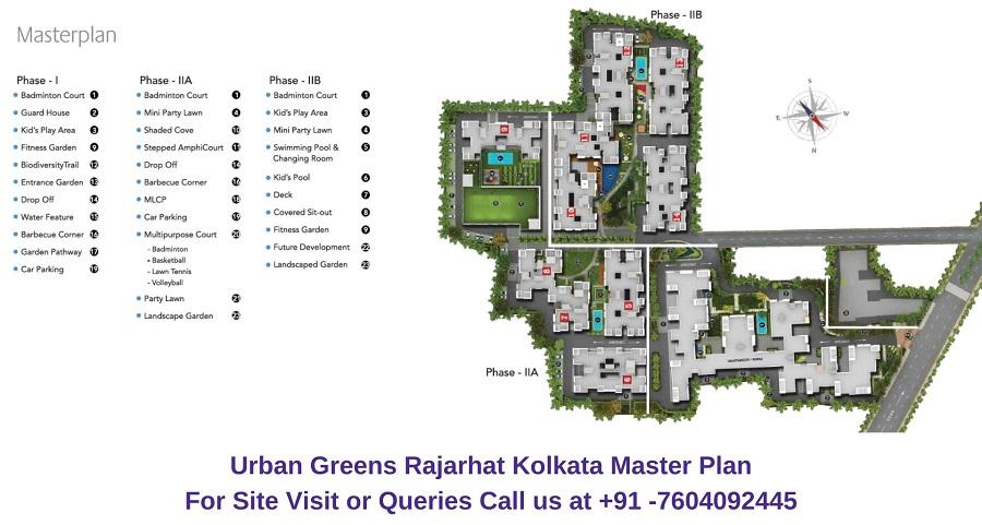 Urban Greens Rajarhat Kolkata Master Plan