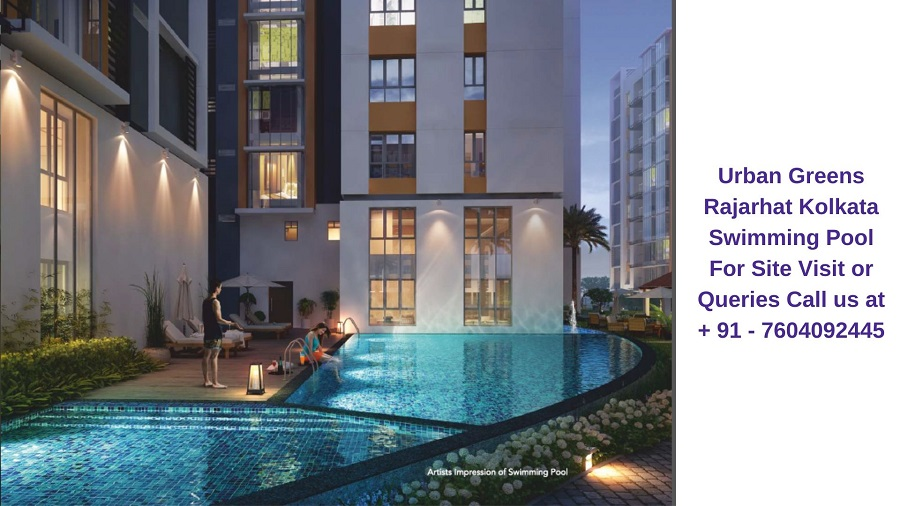 Urban Greens Rajarhat Kolkata Swimming Pool