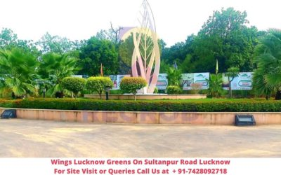 Wings Lucknow Greens On Sultanpur Road Lucknow Actual View of Site (1)