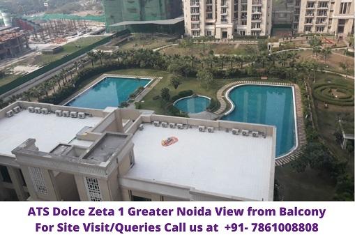 ATS Dolce Zeta 1 Greater Noida  Balcony View