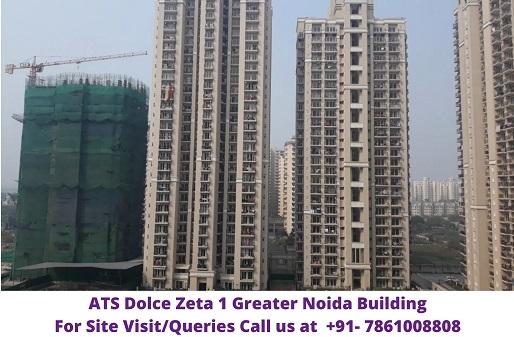 ATS Dolce Zeta 1 Greater Noida Building