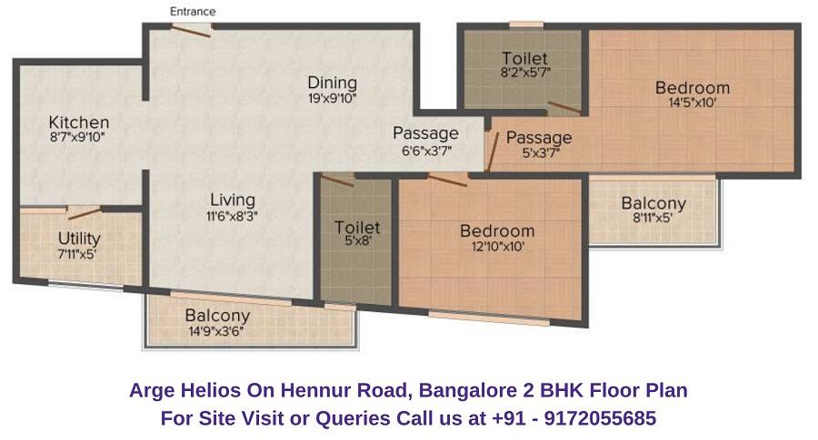 Arge Helios On Hennur Road, Bangalore
