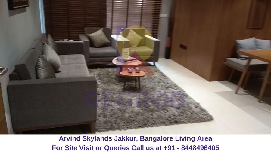 Arvind Skylands Jakkur, Bangalore Living Area