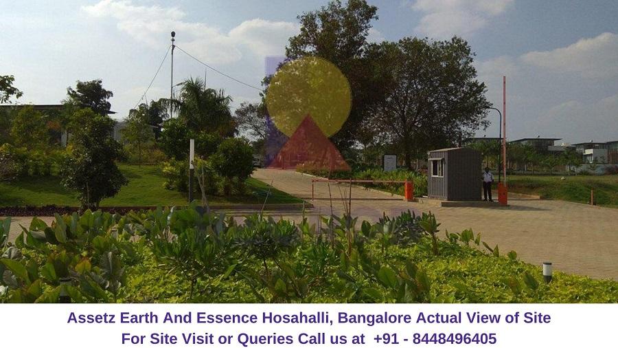 Assetz Earth And Essence Hosahalli, Bangalore Actual View of Site (1)